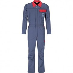 SAME Grey and Red Boilersuit