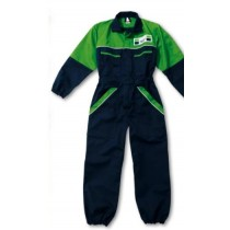 Tuta Deutz-Fahr bambino 9-11 anni verde e blu